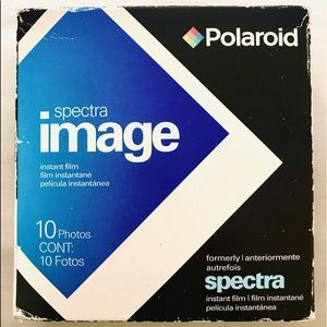 Vintage Polaroid Spectra Film Pack:10 Color Photos